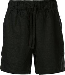 venroy lounge shorts - blue