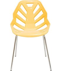 cadeira ninja chair yellow