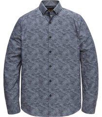 overhemd camo donkerblauw