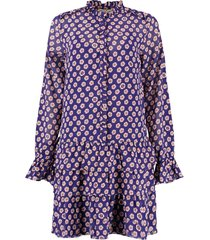 harper & yve fay dress purple blue