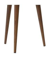 mesa de apoio retrô valentina - malbec - ej móveis