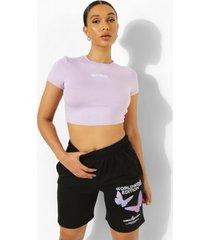 vlinder sweat shorts, black