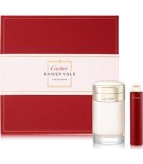 cartier baiser vole eau de parfum 2-pc. gift set