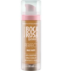 base líquida matte hd 30ml 2 ana - boca rosa beauty by payot único
