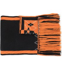 bapy by *a bathing ape® embroidered logo scarf - orange