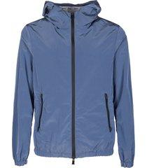 blue lightweight jacket