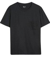 camiseta descanso hombre unicolor color negro, talla m