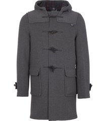 gloverall grey morris duffle coat mc3512c
