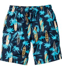 bermuda da spiaggia regular fit (blu) - rainbow