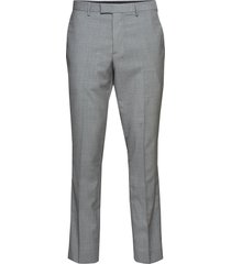 slim italian wool suit pant kostuumbroek formele broek grijs banana republic