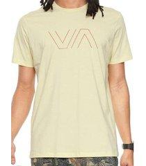 camiseta rvca va outline masculina