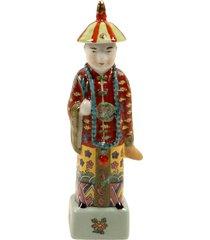 escultura decorativa de porcelana chinês hock