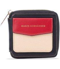 billetera emma rojo cayena colorful