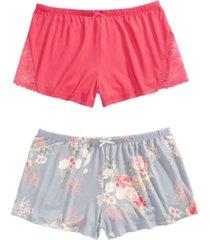 flora by flora nikrooz 2-pk. pajama shorts
