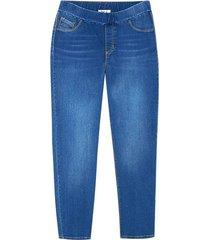 leggings tipo jegging color azul, talla 8