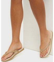 havaianas hav slim sparkle flip-flops