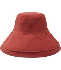 exterior sólido cubo de verano sombrero plegable lavar damas protección