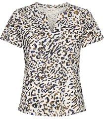 gesinapw ts blouses short-sleeved brun part two