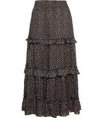 domi knälång kjol svart mango