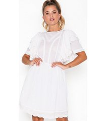 nly trend boho frill dress loose fit