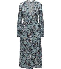 day neela paisley knälång klänning blå day birger et mikkelsen
