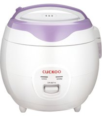 cuckoo 6 cup electric rice cooker & warmer cr-0671v