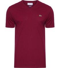 t-shirt masculina manga curta - vinho