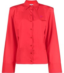 parachute canvas shirt, red
