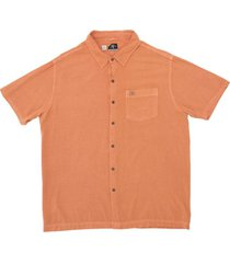 camisa viscosa bordo/orange kaya unite