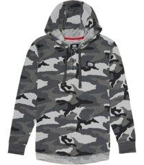 ecko unltd men's hooded stunner thermal hooded sweatshirt