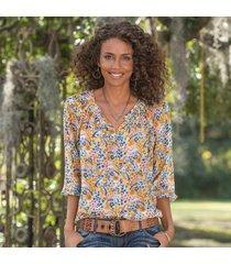 avian paradise blouse