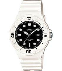 reloj blanco casio standard