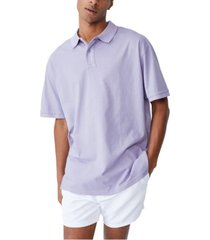 cotton on men's oversized wash polo