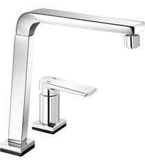 misturador monocomando para cozinha mesa bistrô tech sem ducha manual cromado - 00699506 - docol - docol