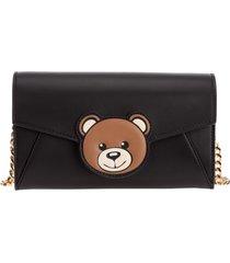 portafoglio portamonete donna in pelle teddy bear