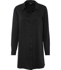 camicetta lunga con spacchi (nero) - bodyflirt