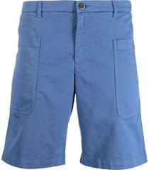 barena straight-leg bermuda shorts - blue