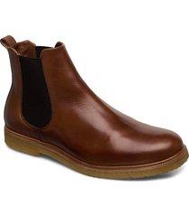 cast crepe chelsea stövletter chelsea boot brun royal republiq