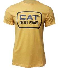 camiseta hombre vintage diesel tee amarillo cat