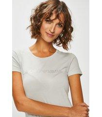 emporio armani dames t-shirt grey