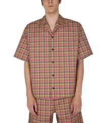 msgm twill shirt