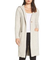 women's ugg judith long cardigan, size x-small/small - beige