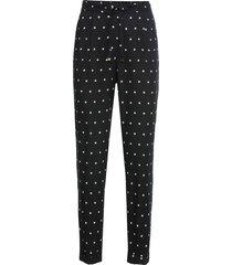 pantalone loose fit (nero) - bodyflirt