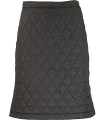 burberry gail - diamond quilted a-line skirt
