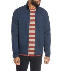 men's bldwn nomez fleece zip jacket, size xx-large - blue