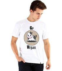 camiseta ouroboros go vegan 2 masculina - masculino