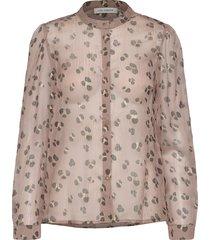shirt blouse lange mouwen roze sofie schnoor