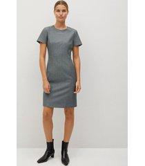 korte getailleerde jurk
