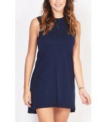 vestido azul veronica con tachas