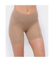 shorts modelador selene elastano feminino
